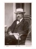 Mark Twain, American Writer Born: Samuel Langhorne Clemens, Giclee Print