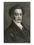 Vincenzo Bellini, Italian Composer, Giclee Print