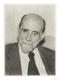 Juan Ramon Jimenez, Spanish Poet, Giclee Print