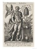 Trophonius Architect of the Temple of Apollo, Giclee Print