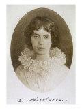 Emily Dickinson, America Writer, Giclee Print