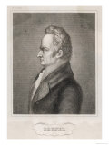 Marc Isambard Brunel Engineer Notably the Thames Tunnel, Giclee Print