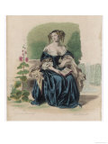 Marie-Madeleine Pioche de la Vergne, comtesse de la Fayette, Giclee Print