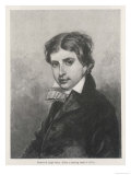James Henry Leigh Hunt, English Poet and Essayist and Critic of Prince Regent, Giclee Print