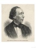 Hans Christian Andersen, Danish Writer, Giclee Print