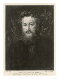 William Morris, English Writer, Artist, and Socialist, Giclee Print