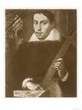 Antonius Stradivarius or Antonio Stradivari Italian Violin Maker of Cremona, Giclee Print