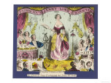 Jenny Lind, Soprano known as the Swedish Nightingale Giclee Print