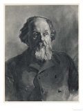 Konstantin Eduardovich Tsiolkovsky, Russian Scientist and Pioneer of Space Travel, Giclee Print