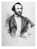 Adolphe Sax, French Inventor of Musical Instruments, Giclee Print