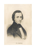 Frederic Chopin, Polish Composer, Giclee Print