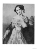 Mathilde Wesendonck, German Poet Who Though Married Infatuated Richard Wagner, Giclee Print