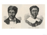Dred and Harriet Scott, Giclee Print