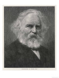 Henry Wadsworth Longfellow Wall Poster