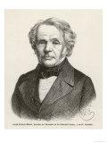 August Ferdinand Mobius, German Scientist Professor of Astronomy, Giclee Print