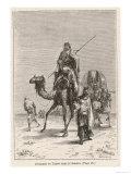 Benjamin of Tudela Explores the Sahara by Camel, Giclee Print