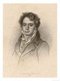 Ludwig Van Beethoven, German Composer Portrait in 1814, Giclee Print