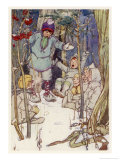 Peter Pan, The Lost Boys, Giclee Print, Alice B. Woodward