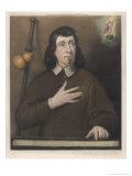 John Milton, English Poet, Giclee Print