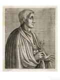 Quintus Horatius Flaccus, Roman Writer, Giclee Print
