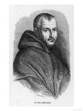Marin Mersenne, French Mathematician and Monk, Giclee Print