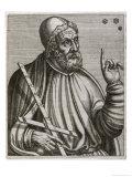 Claudius Ptolemaius, Alexandrian Astronomer Mathematician and Geographer, Giclee Print