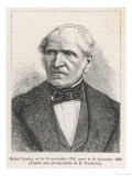 Michel Chasles, French Mathematician, Giclee Print