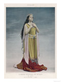 Hatto (Marguerite Jeanne Frere) French Soprano in the Role of Brunnhilde, Photographic Print