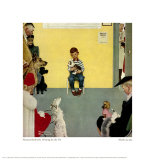 Waiting for the Vet, Giclee Print, Norman Rockwell