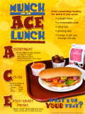 Ace Lunch Laminated Poster