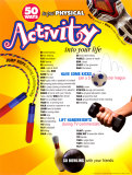 50 Ways to put Physical Activity into your Life, Laminated Poster