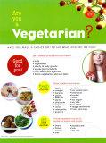 Vegetarian? Laminated Poster
