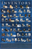 Famous Inventors Poster