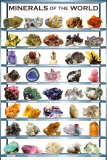 Minerals Chart Art Print