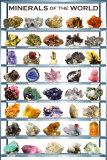 Minerals Chart Art Print