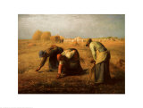 The Gleaners, 1857, Art Print