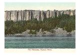Hudson River Palisades Art Print