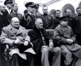 The Big Three: Churchill, Roosevelt, Stalin at Yalta, 1945 - Fine Art Photo