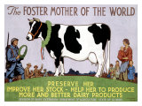 Foster Mother of the World, Print