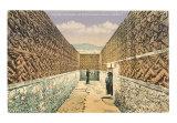 Zapotec-Mixtec Ruins in Mitla, Oaxaca Art Print