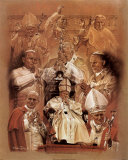 Pope John Paul II Fine Art Print