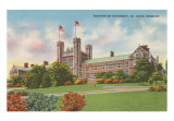 Washington University, St. Louis, Missouri Art Print