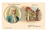 George Frederick Handel and Birthplace, Art Print