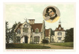Washington Irving Home, Tarrytown, Art Print