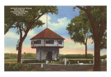 Anthony Wayne Block House, Erie, Pennsylvania Art Print