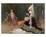 Rumplestiltskin, Art Print, Warwick Goble, illustrator