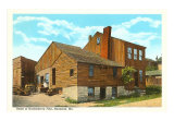Huckleberry Finn Home, Hannibal, Missouri Art Print