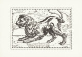 The Constellation of Leo the Lion, Giclee Print