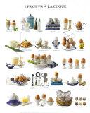Eggs, Art Print