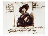 Baldassare Castiglione, Author of Il Cortegiano, the Book About the Perfect Courtier, 1639, Giclee Print